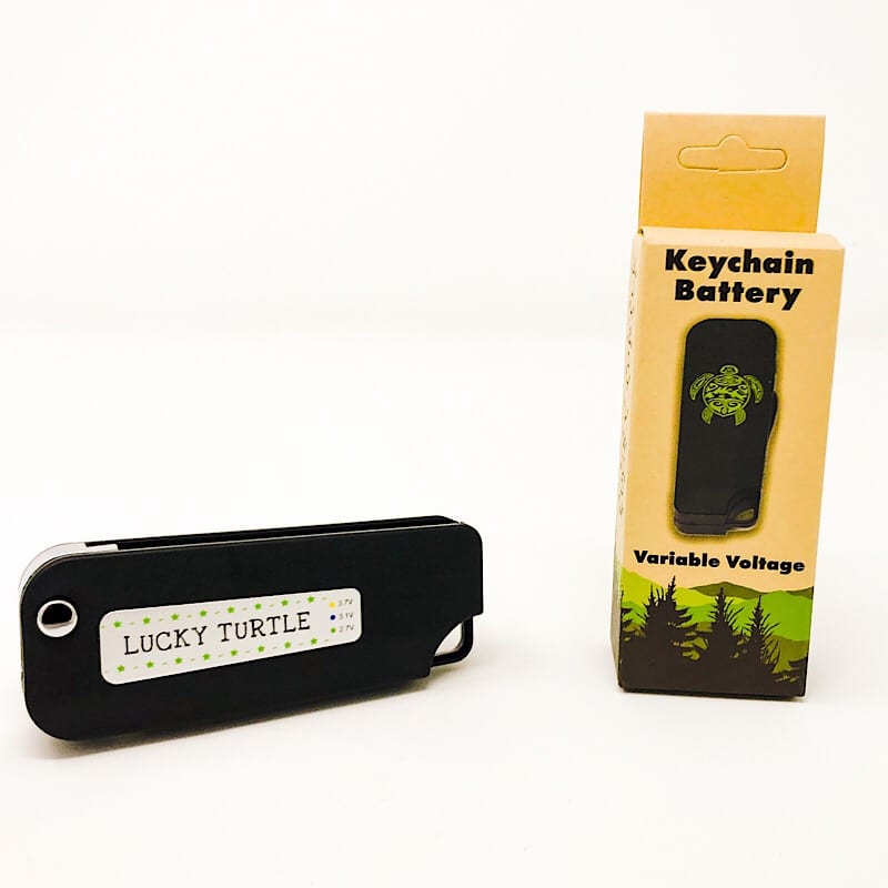 Variable Voltage Key Chain Vape Battery